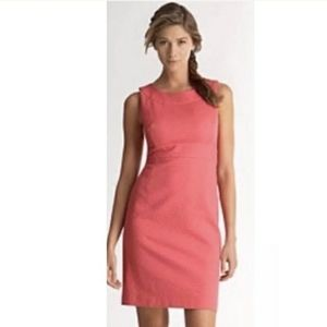 Loft Pink Sleeveless Sheath Dress